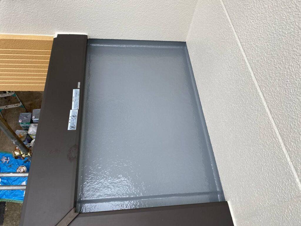 埼玉県蕨市で屋根外壁塗装及びベランダ雨戸塗装